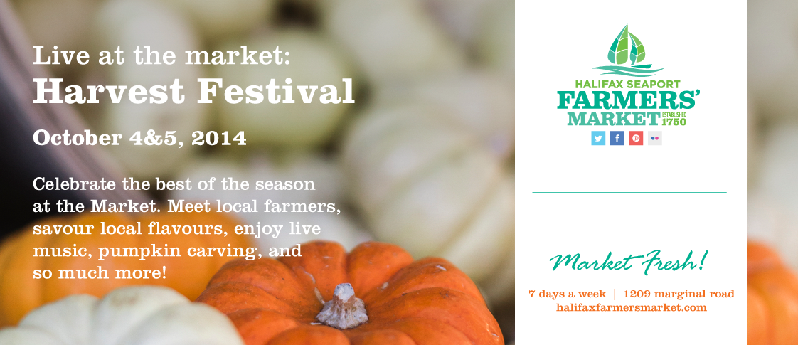 Live at the Market: Harvest Festival October 4 & 5, 2014