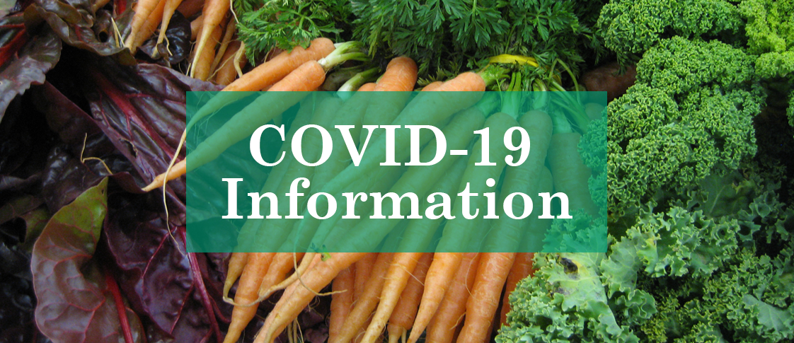COVID-19: Important Information for Customers